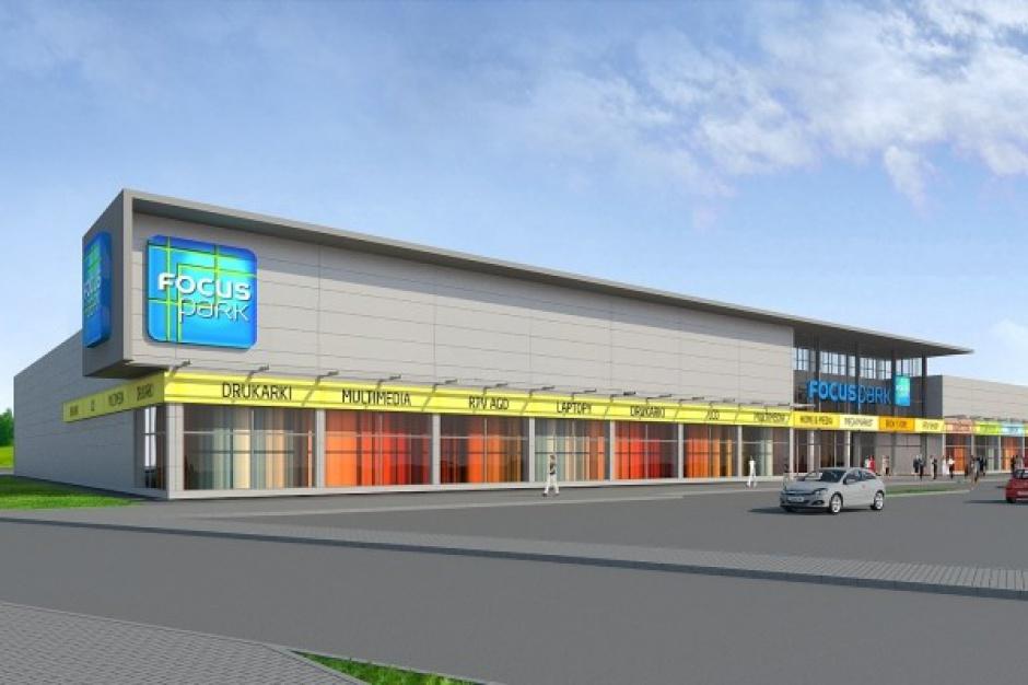 Parkridge rozpoczął budowę Focus Parku we Włocławku
