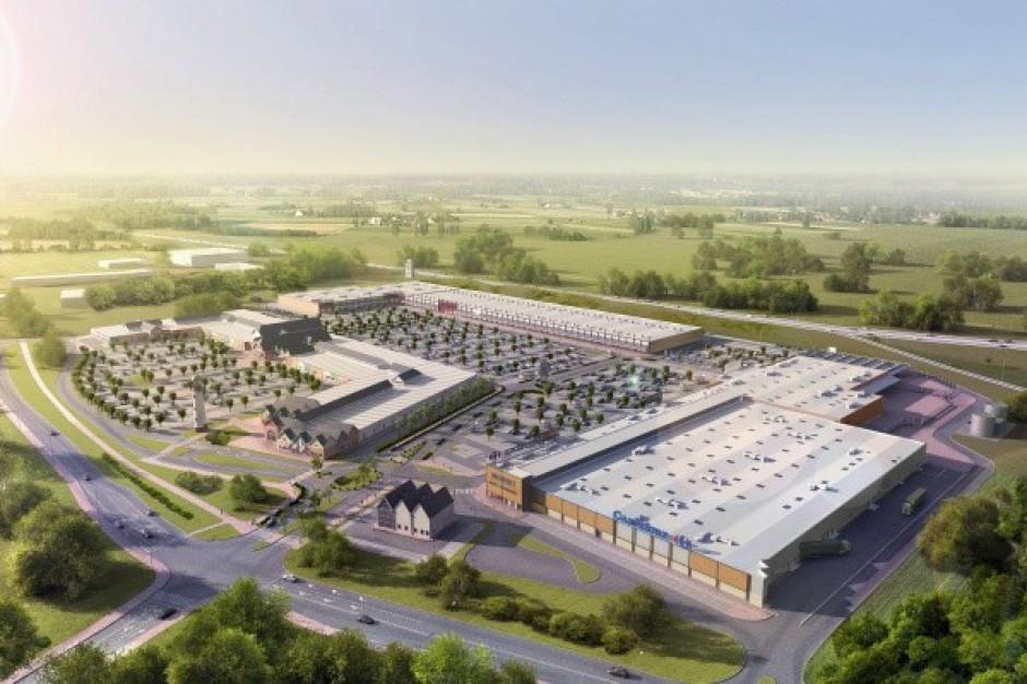 Rusza pierwszy w Polsce kompleks łączący centrum wyprzedażowe z parkiem handlowym