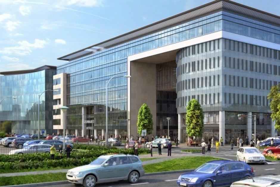 W maju wiecha nad pierwszym biurowcem w Olivia Business Centre. Inwestor projektuje kolejny