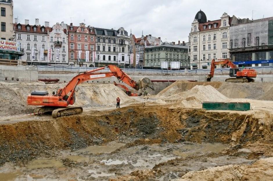 Byliśmy na budowie Zintegrowanego Centrum Komunikacyjnego w Katowicach - zobacz zdjęcia
