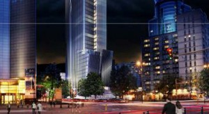 Nowoczesny wieżowiec zastąpi biurowiec z lat 60. przy Rondzie ONZ