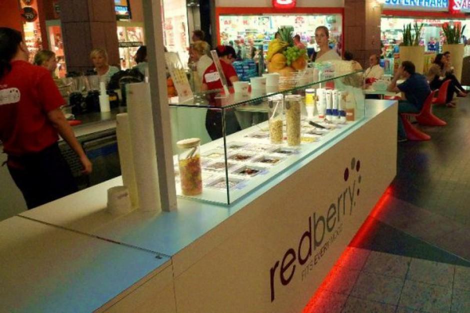 RedBerry chce wejść do galerii handlowych w dziesięciu dużych miastach Polski