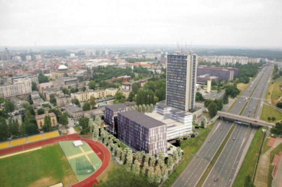 Katowice: GC Investment planuje kompleks biurowy przy autostradzie A4