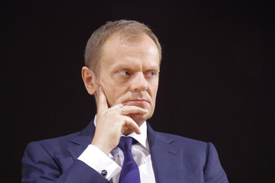 Tusk: Do walki z kryzysem Europa potrzebuje przełomu ustrojowego