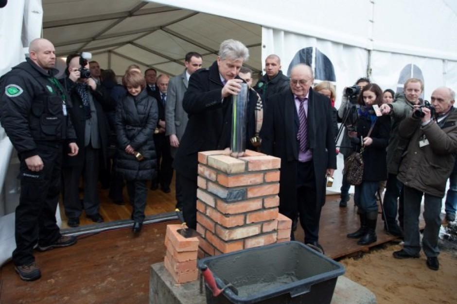 Kamień węgielny pod budowę Poznań City Center - galeria zdjęć