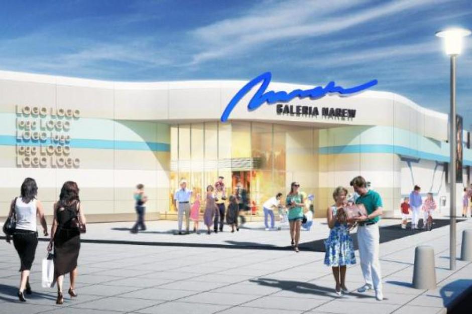 Budowa Galerii Narew zgodnie z planem