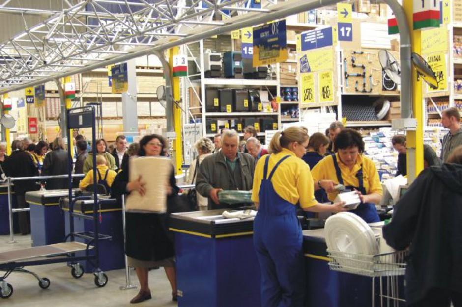 Polskie sklepy Grupy Kingfisher osiągnęły 212 mln funtów sprzedaży