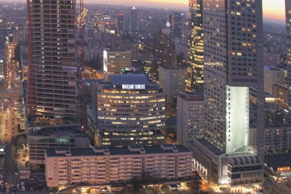 Biurowy boom w stolicy. Tylko w Paryżu buduje się więcej niż w Warszawie