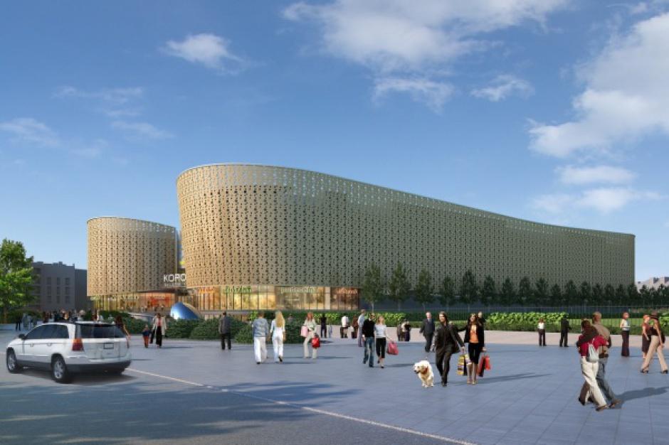 Budowa Galerii Korona Kielce dobiega końca