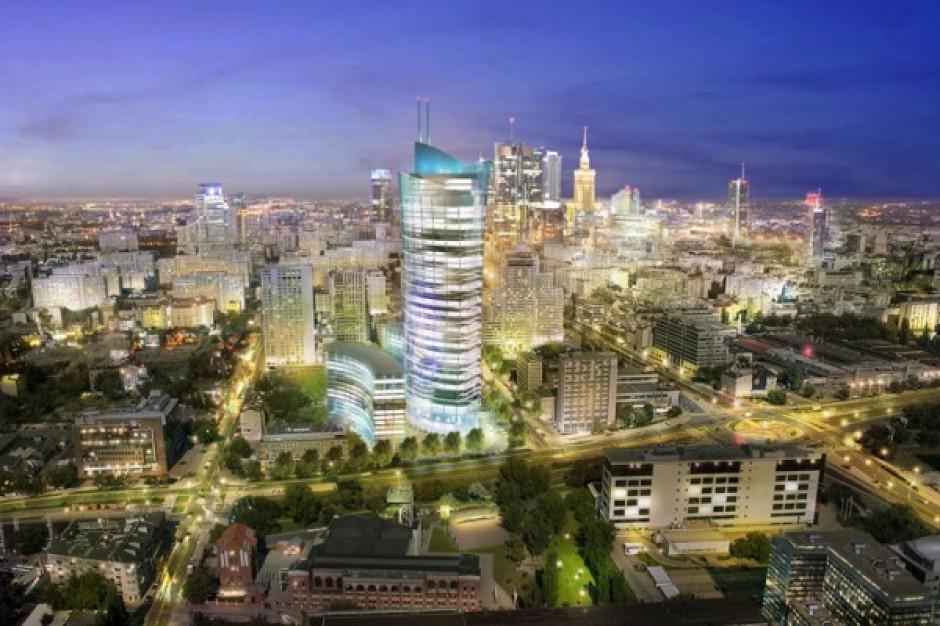 Pęd do wieżowców w Warszawie