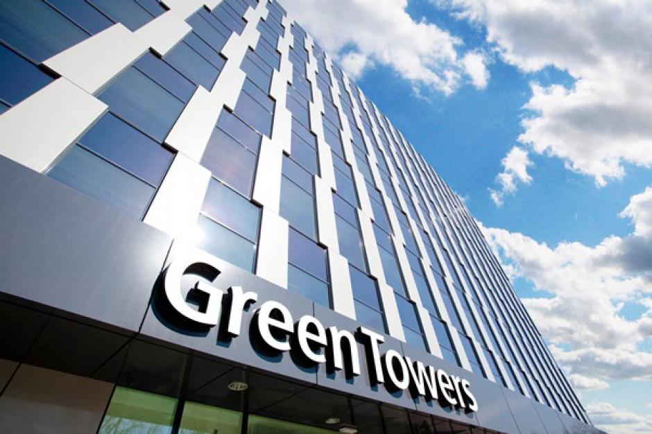 Colliers będzie zarządzał kompleksem Green Towers