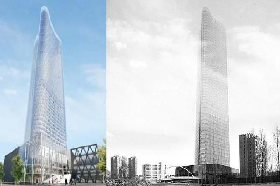 Nowe plany wobec LC Corp Tower w Katowicach