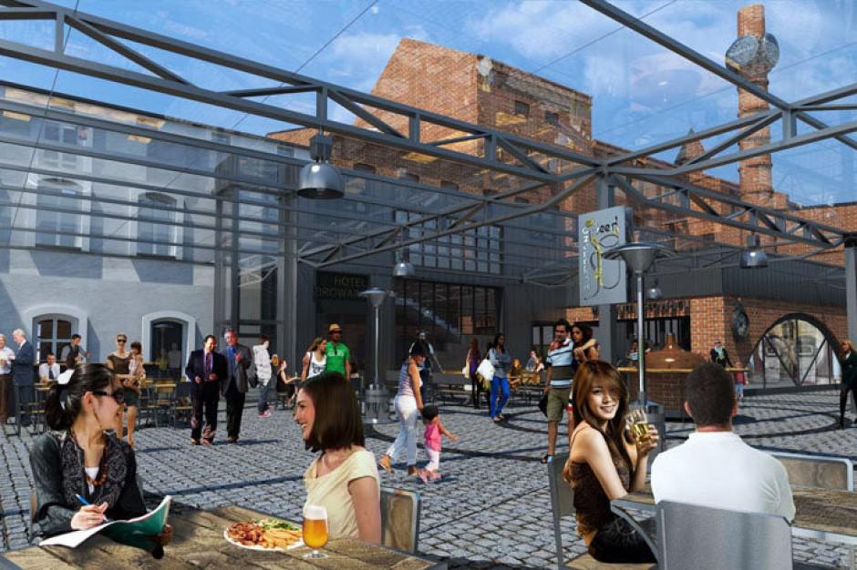 Centrum Browar City Czarnków połączy handel, hotel i usługi