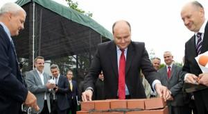 Wmurowanie kamienia węgielnego pod biurową inwestycję w Radomiu