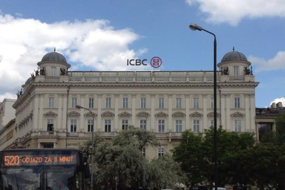 Warszawski biurowiec siedzibą chińskiego banku