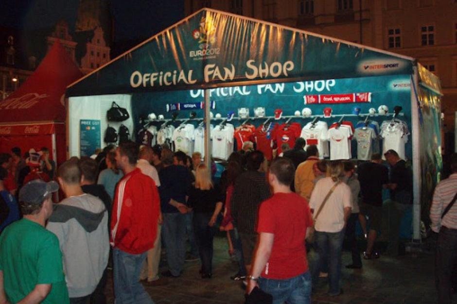 Intersport dobrze zarobił na Euro 2012