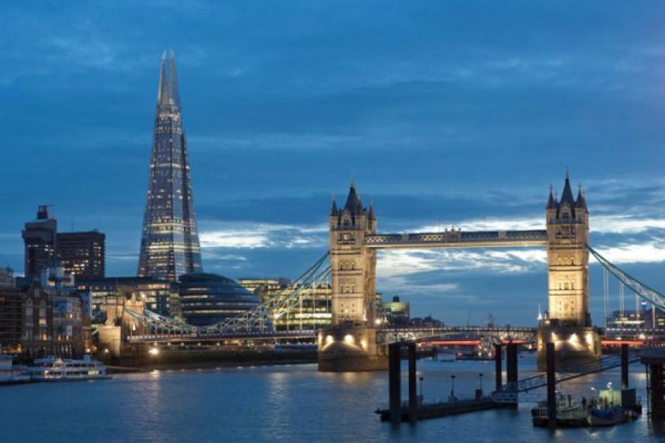 W Londynie ddano do użytku najwyższy budynek w UE. Będzie hotel