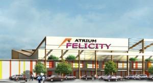 Atrium zmienia projekt centrum handlowego Felicity