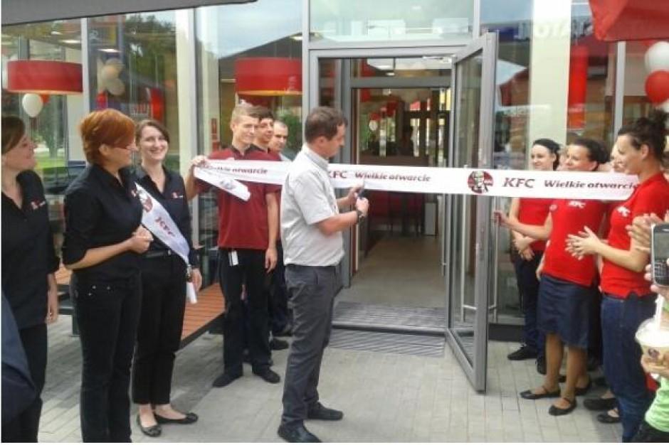 Otwarcie nowej restauracji KFC w Płocku - zdjęcia