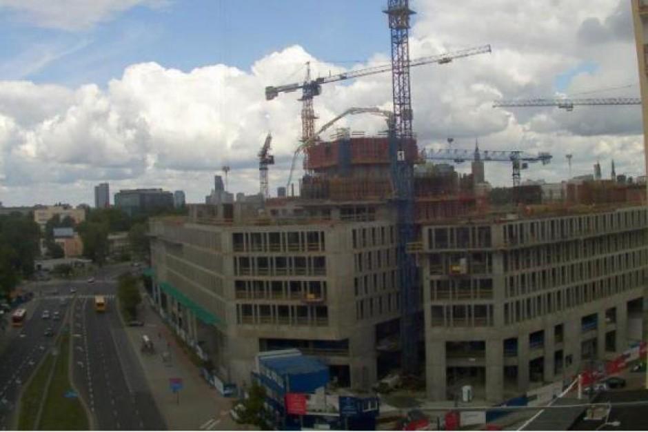 Budowa Placu Unii na półmetku