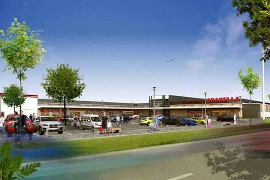 Marcredo Center zastąpi centrum handlowe Arabella w Ciechanowie