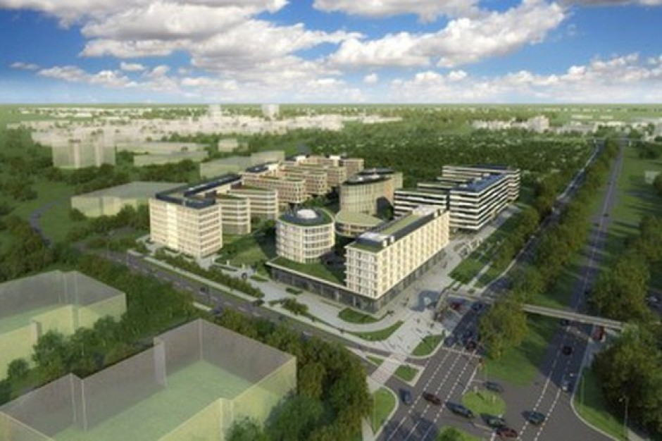 Kończy się pierwszy etap budowy Business Garden Warszawa