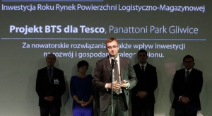 Prime Property Prize 2012: Projekt firmy Panattoni Inwestycją Roku Rynek Powierzchni Logistyczno- Magazynowej