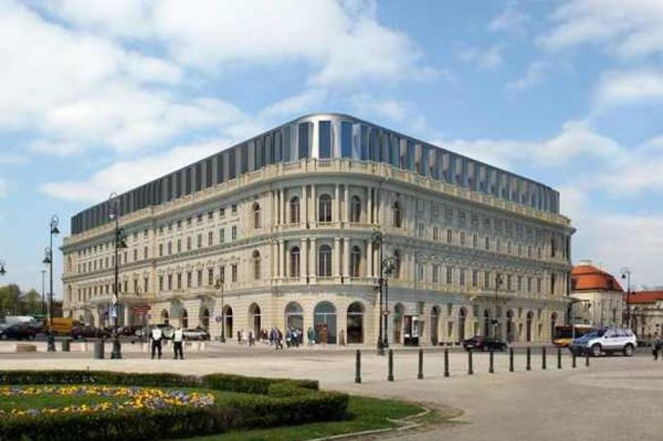 Hotel Europejski w Warszawie czeka gruntowny remont. Wartość inwestycji to 65 mln euro