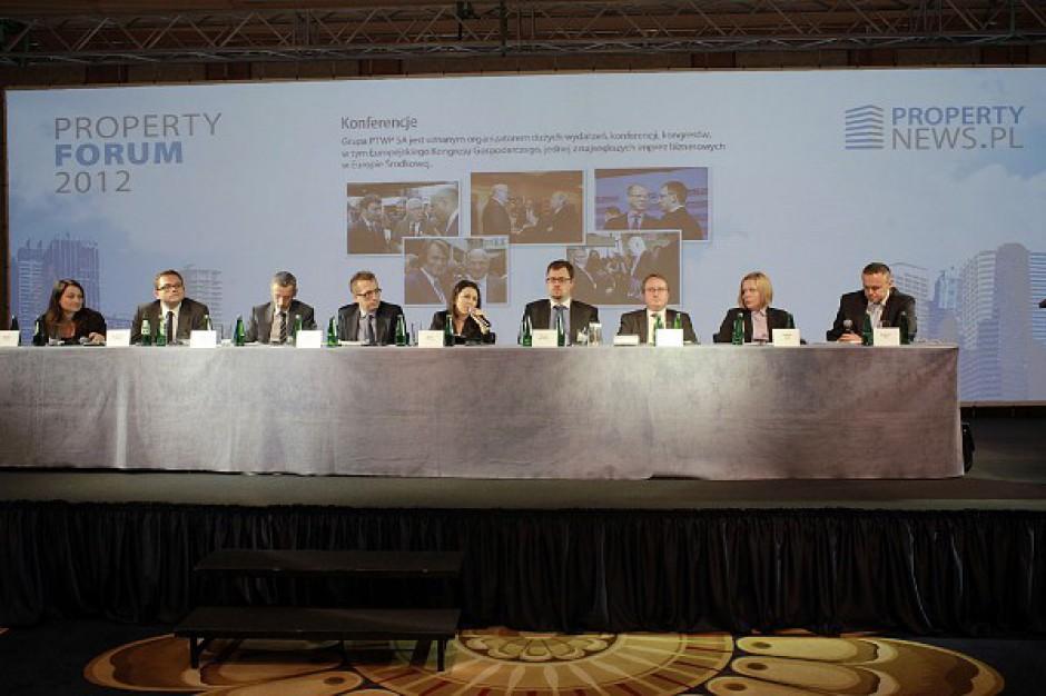 Property Forum 2012: Co muszą zrobić inwestorzy, by zdobyć pieniądze na projekty komercyjne?