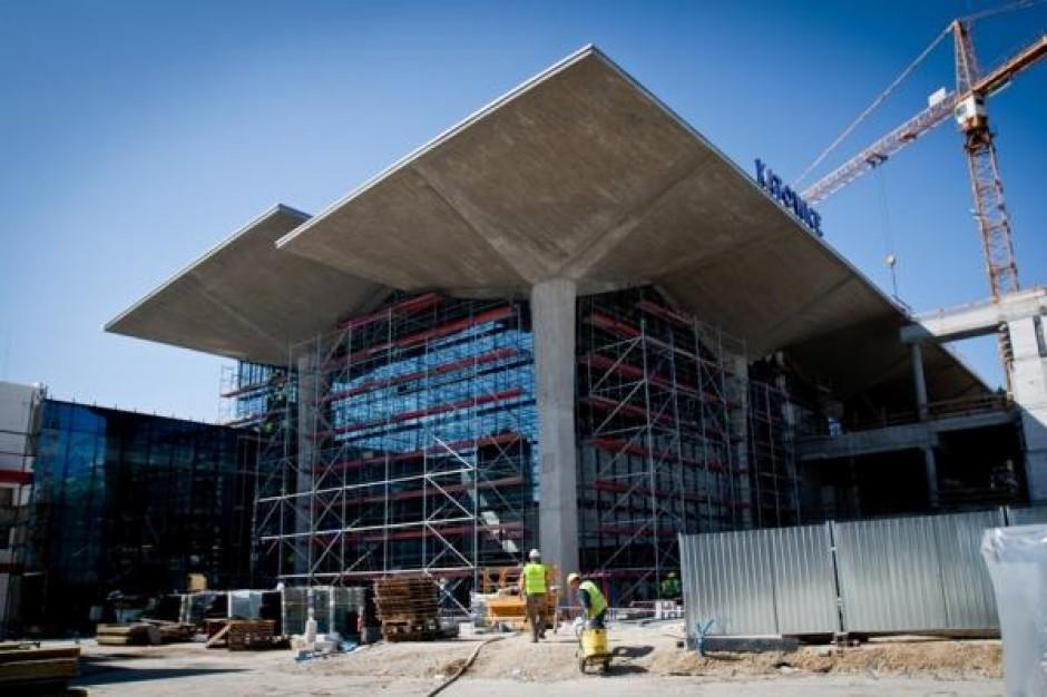 Budowa dworca w Katowicach na finiszu