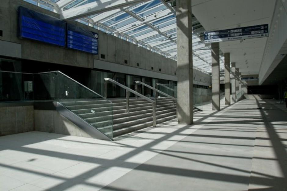 Budowa dworca PKP w Katowicach zakończona