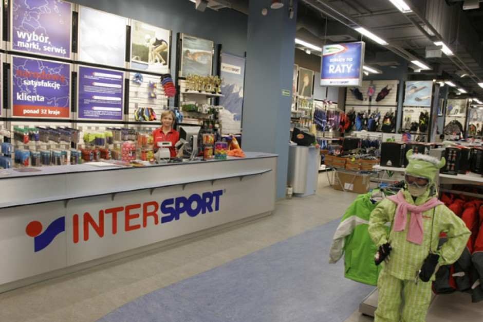 Intersport minimalnie na plusie