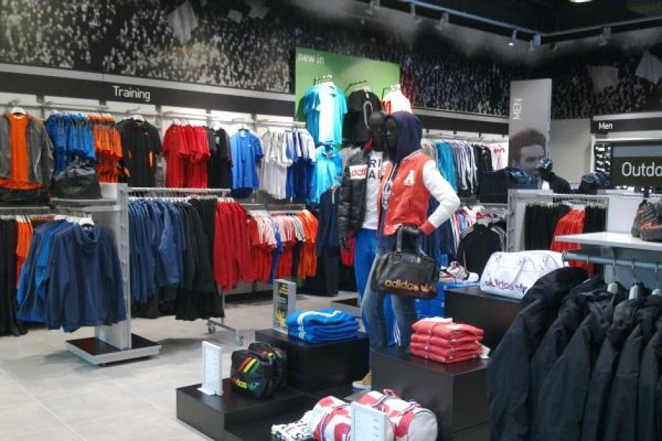 Nowy sklep Adidas w Outlet Factory