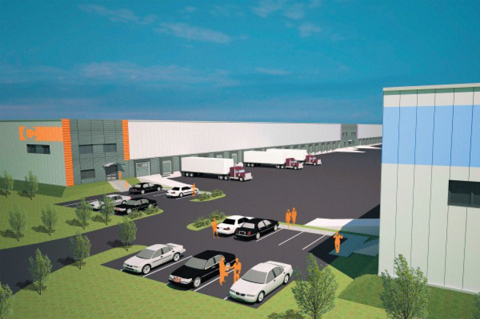 BOŚ Bank finansuje budowę North-West Logistic Park