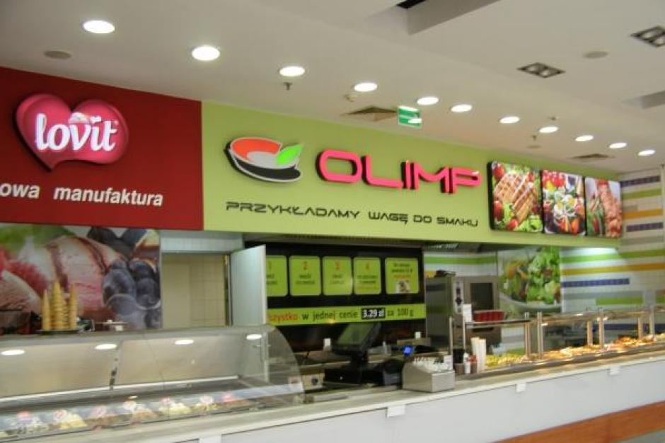 Kolejne restauracje Olimp w centrach handlowych jeszcze w tym roku