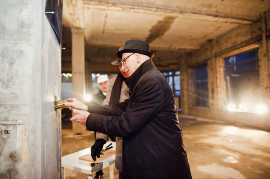 Zobacz zdjęcia z wmurowania aktu erekcyjnego w Save The World Business Center