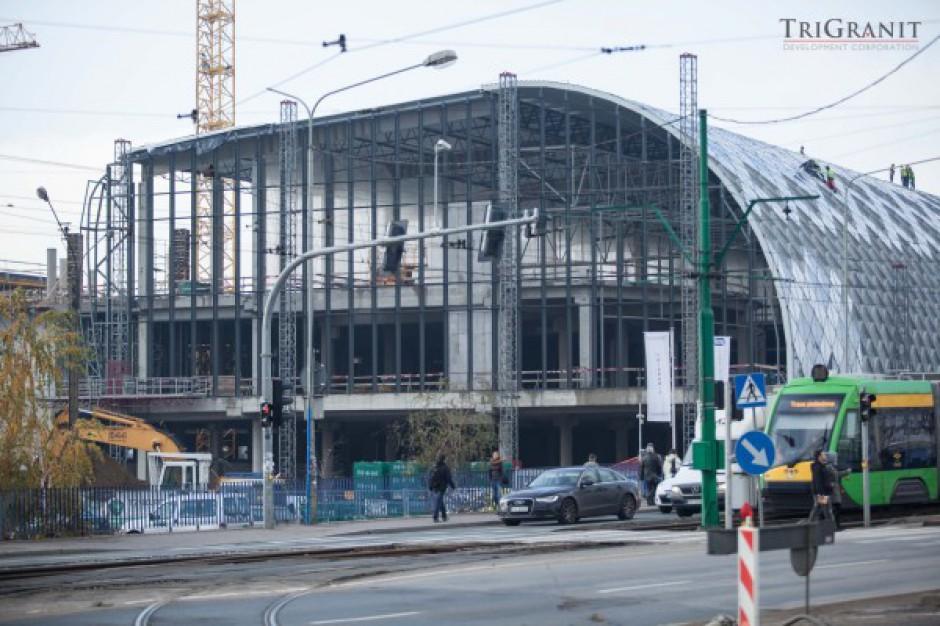 Kolejne etapy budowy Poznań City Center - zobacz zdjęcia