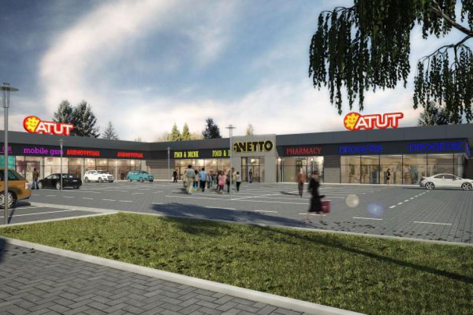 Powstanie piąte centrum handlowe Atut
