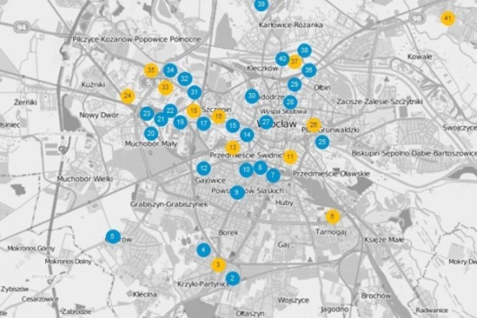 Zobacz ponad 40 istniejących i planowanych biurowców we Wrocławiu