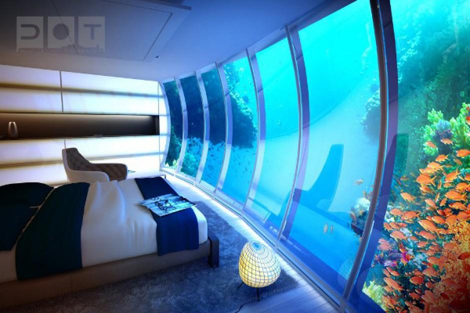 Podwodny hotel z Gdyni kusi kupców z Malediwów i Dubaju