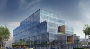 Koniec budowy biurowca Pixel w Poznaniu