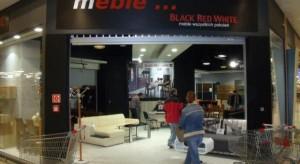 Meble Black Red White w CH Auchan Częstochowa