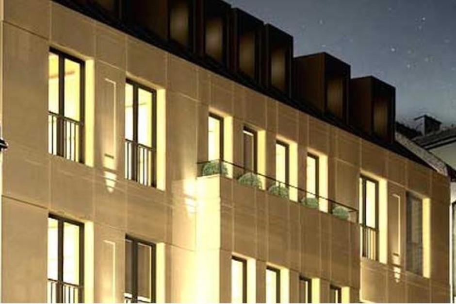 Trwa budowa nowego biurowca w ścisłym centrum Poznania
