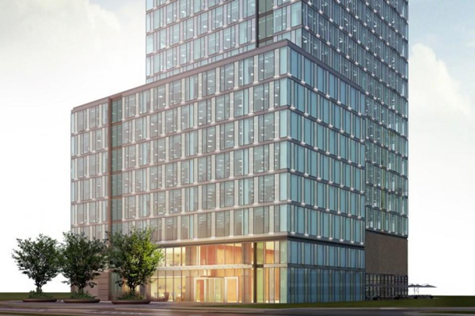 Jest pozwolenie na budowę biurowego wieżowca w stolicy