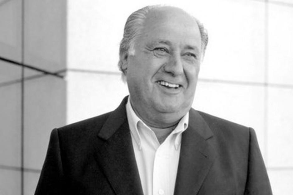 Amancio Ortega 3. najbogatszym człowiekiem na świecie