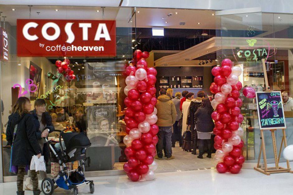 10 nowych kawiarni Costa by Coffeeheaven powstanie w tym roku