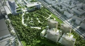 Zobacz pierwsze wizualizacje potężnego kompleksu handlowo-biurowego na warszawskich Bielanach