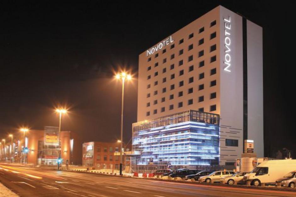 Ostatnie prace przy hotelu Novotel Łódź - zobacz aktualne wizualizacje