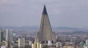 Otwarcie najwyższego budynku w Korei Północnej wstrzymane