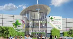 Galeria Handlowa Rapsodia z wnioskiem o pozwolenie na budowę